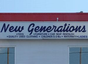 New Generations Sign